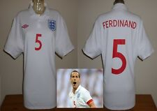 England home football shirt 2010 R.Ferdinand Manchester United West Ham XL used
