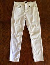 EILEEN FISHER Women's Skinny Jeans Off White Sz 4