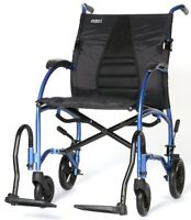 "Strongback Excursion 8 Lightweight Transport Chair Wheelchair 16"" / 18"" NEW"