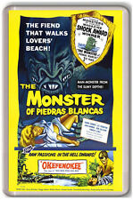 THE MONSTER OF PIEDRAS BLANCAS 1959 FRIDGE MAGNET IMAN NEVERA