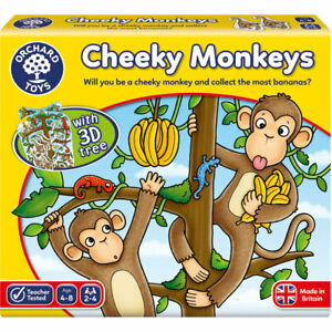 Orchard Toys Cheeky Monkeys Counting and Strategy Game