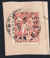 TYPE SAGE  N°:94-  - OBLITERATION DU CACHET  DE JOSSELIN