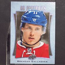 BRENDAN GALLAGHER  2016/17  UD  Portraits  #P45  Montreal Canadiens