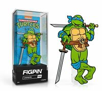 In Stock: FiGPiN Classic: TEENAGE MUTANT NINJA TURTLES TMNT - Leonardo(#566)