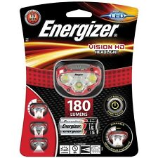 Energizer E300280500 Vision HD Headlight with 3 x AAA Alkaline Batteries