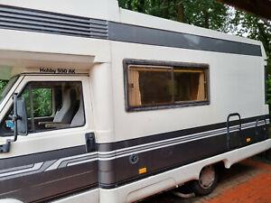 Wohnmobil Hobby 550AK Alkoven, TÜV bis 05/23, Bastlerfahrzeug