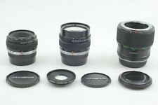[N.Mint] Olympus OM-System Zuiko Auto Macro 135mm f4.5 + 80mm f4 Lens from Japan