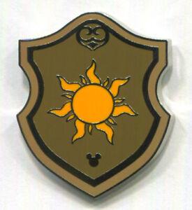 Disney Pin Rapunzel Sun Tangled WDW Hidden Mickey Crest Shield Collection