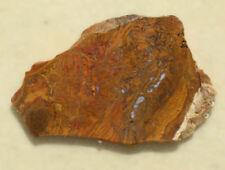 Orange Swirl Agate rough slab item111845 Diy Cabochons
