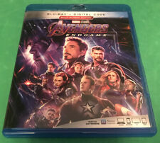 Avengers: Endgame (Blu-ray 2019, 2-Disc Set, Includes Digital Code)