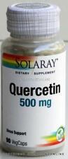 Solaray Quercetin 500 mg 1 Bottle 90 Veg Caps Sinus Support