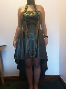 Ladies Steampunk Gothic Victorian Clothing Bundle size 18