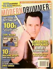 Modern Drummer Magazine Nov 2007 Smashing Pumpkins' Jimmy Chamberlin