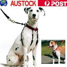 Front Tether dog harness Non Pull Training Walk Easy Gentle Lead M Size Big Sale