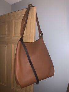 Burberry Leather Grommet Detail Bag