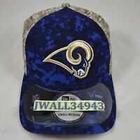 Los Angeles Rams Men's New Era NFL Salute to Service Hat Cap 39Thirty S/M