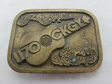 Vintage 1170 CKGY Radio Station Red Deer Alberta Belt Buckle