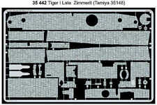 Eduard 1/35 Zimmerit Tiger I Late for Tamiya kit # 35442
