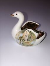 Religious swan porcelain d'art Limoges Made in france
