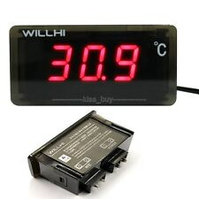 -30-300℃ Thermometer digital LED Temperatur Anzeige Messer Temperaturanzeige RED