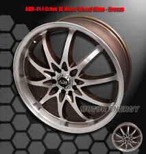 "18""X7.5"" 42MM ADR J-DRIVE 5-LUG WHEEL RIM BRONZE FOR SUNFIRE GRAND AM PRIUS"