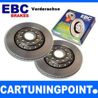 EBC Bremsscheiben VA Premium Disc für Opel Ascona C 81, 86, 87, 88 D099
