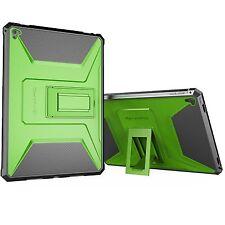iPad Pro 9.7 iPad Air 2 Dual Layer Armour Cover Case Builtin Protector Kickstand