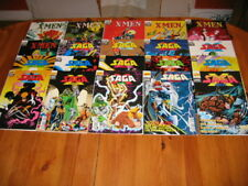 LOT 20 SAGA X MEN dont 2 a 20 SEMIC MARVEL