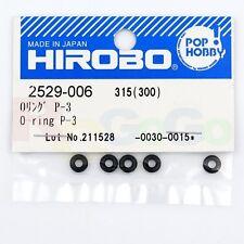 HIROBO 2529-006 O-RING P-3 5PCS #2529006 HELICOPTER PARTS
