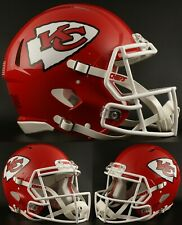 KANSAS CITY CHIEFS NFL Riddell SPEED Full Size Replica Football Helmet