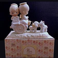 Precious Moments Porcelain Figurine: Jesus Is Born #E-2801