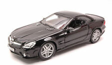 Mercedes Benz Sl-65 AMG Convertible 2009 Black 1:18 Model MAISTO