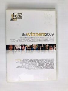 THE WINNERS 2009-36 Track DVD-Adam Harvey-Sara Storer-Smokey Dawson-McClymonts