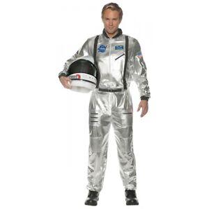 Space Suit Costume Adult NASA Astronaut Halloween Fancy Dress