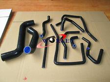 Silicone Radiator Hose For Subaru Impreza WRX/STi GDA/GDB EJ207 02-07 03 04 BLK