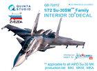 Quinta QD72012 1/72 Su-30SM 3D-Printed  coloured Interior for Zvezda kit