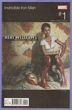 Invincible Iron Man 1 Hip Hop variant Missy Elliot 1st Ironheart Riri Williams