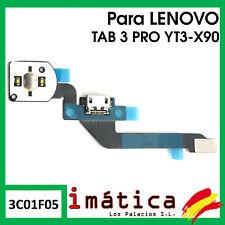 FLEX DE CARGA PARA LENOVO TAB 3 PRO YT3-X90 BOTON CONECTOR MICRO USB PUERTO