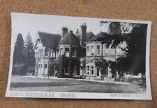 Brockenhurst Hotel New Forest Hampshire Unposted  xc1
