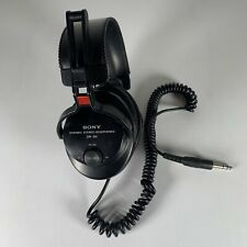 Sony DR-S4 Dynamic Stereo Headphones Retro/Vintage Black Tested/Working
