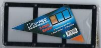 ULTRA PRO BLACK FRAME 3 CARD SCREW DOWN HOLDER 8 Screw Down