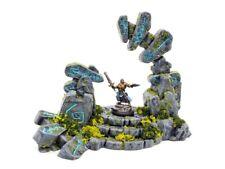 Miniature Wargame Terrain - Henge Portal Ruin - D&D AoS WH40K 3D printed scatter