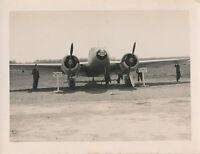 1940-50s airplane,  Photo #36 C-45 on display
