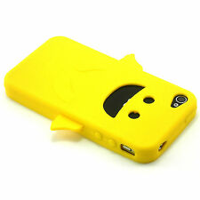 Yellow Angel Happy Silicone Soft Design Case For iPhone 4 4G 4S NEW