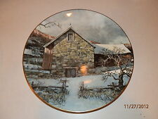 "Vintage Royal Doulton Collector Plate 1977 Pennsylvania Pastorale Eric Stone 10"""