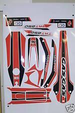 GasGas TXT Pro 2008 Style decal / sticker  set  .