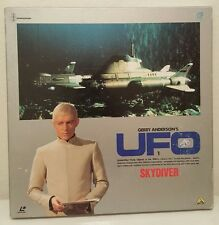 Gerry Anderson's UFO 1 Laser Disc Box Set Skydiver 3 Disc 1970  Japan