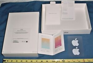 Apple iPad 7th Generation  EMPTY BOX and Papers only. Space Gray 32GB