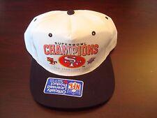 SAN FRANCISCO 49ERS SUPER BOWL XXIX 1995  SCRIPT VINTAGE 90'S HAT CAP  SNAPBACK