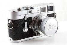 1963 Leica M3 35mm rangefinder camera & Summicron f2 50mm lens - Very Good Cond